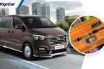 Hyundai Grand Starex现今配备远程信息系统,现任车主可以加价RM2k选购