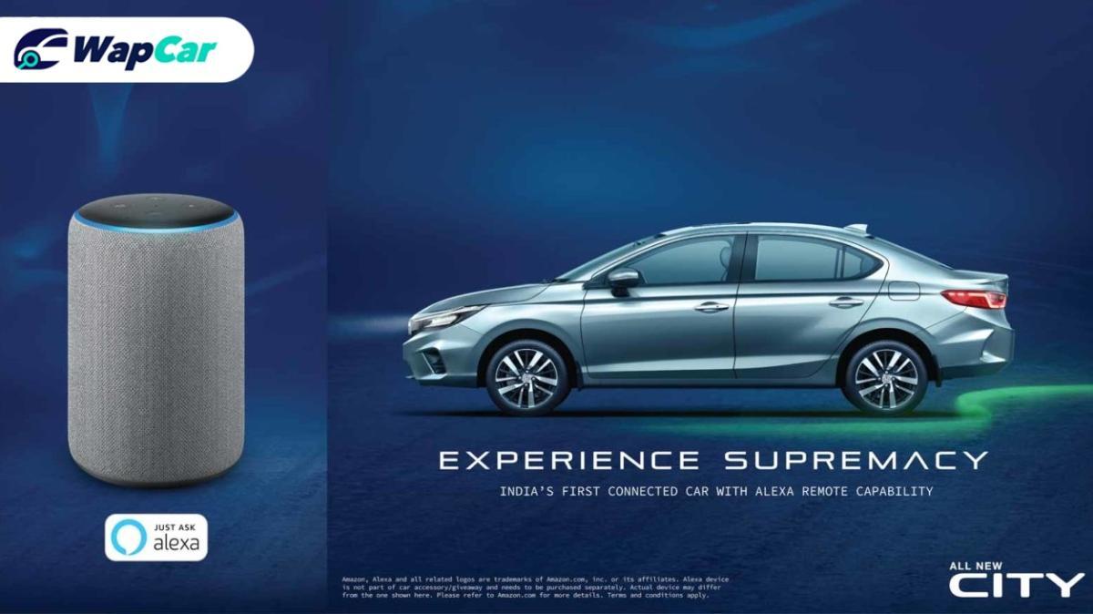 Honda in India teases Alexa in all-new 2020 Honda City 01