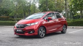 2019 Honda Jazz 1.5 V Exterior 001