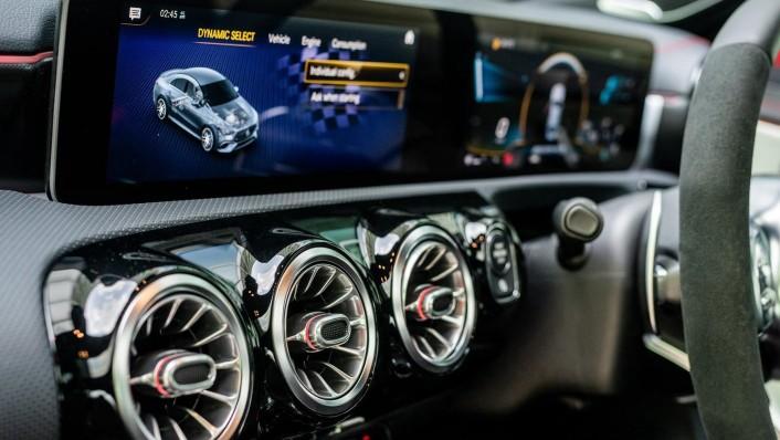 2020 Mercedes-Benz AMG CLA 45 S Interior 009