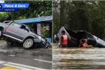 Tips Memandu: Jangan ingat trak pikap boleh redah apa jua keadaan banjir!