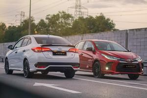 Only selected dealers are selling the Toyota Vios GR Sport