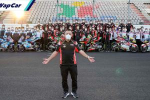 Bos pasukan MotoGP Gresini kembali kritikal angkara Covid-19