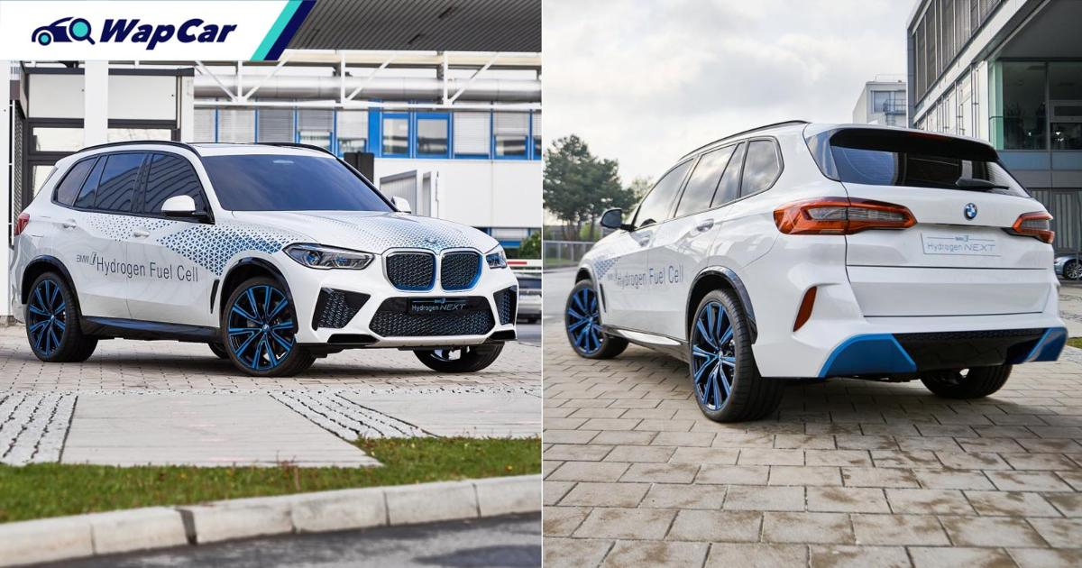 BMW looks to hydrogen power for carbon neutral manufacturing 01
