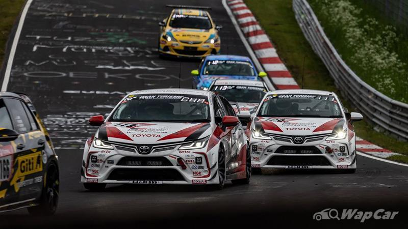 Toyota Corolla Altis conquers yet another Nurburgring 24h race 02