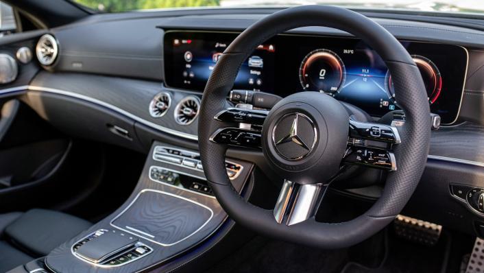 2021 Mercedes-Benz E-Class Coupe E300 AMG Line Interior 003