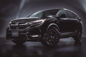 This Honda CR-V Black Edition is a final hurrah before a new facelift model debuts