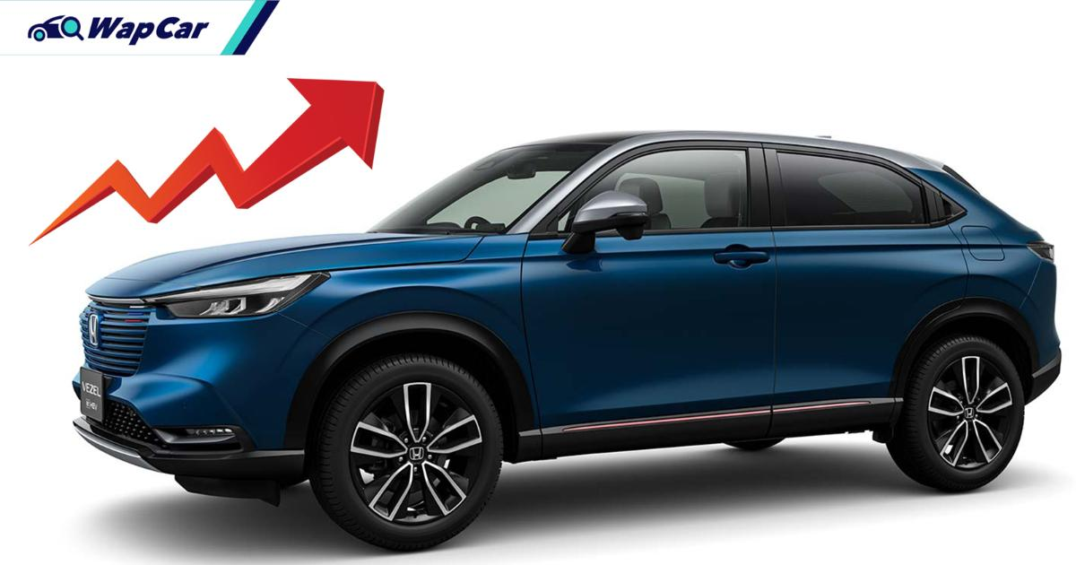 All-new 2021 Honda HR-V gets more expensive in Japan; Malaysia to follow 01