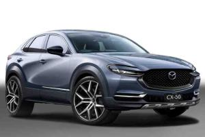 All-new 2023 Mazda CX-50 rendered, BMW X4 fighter coming soon?