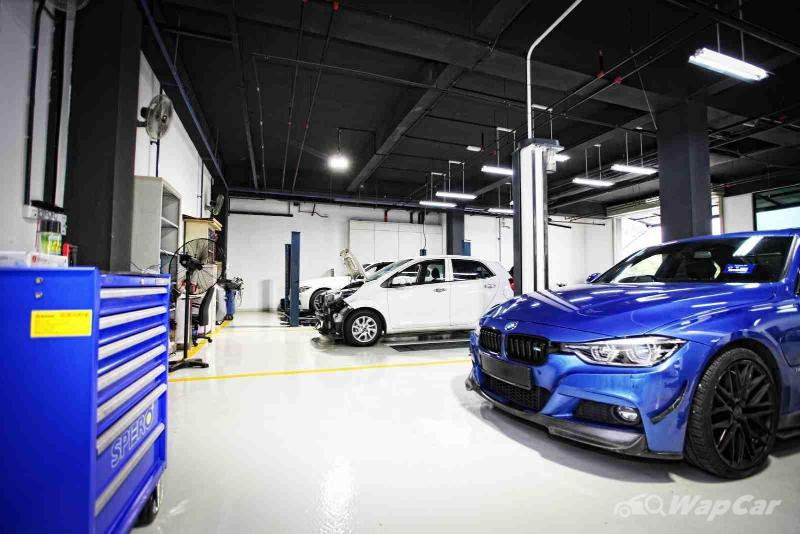 Sime Darby has a new service centre for cars that are out of warranty! 02