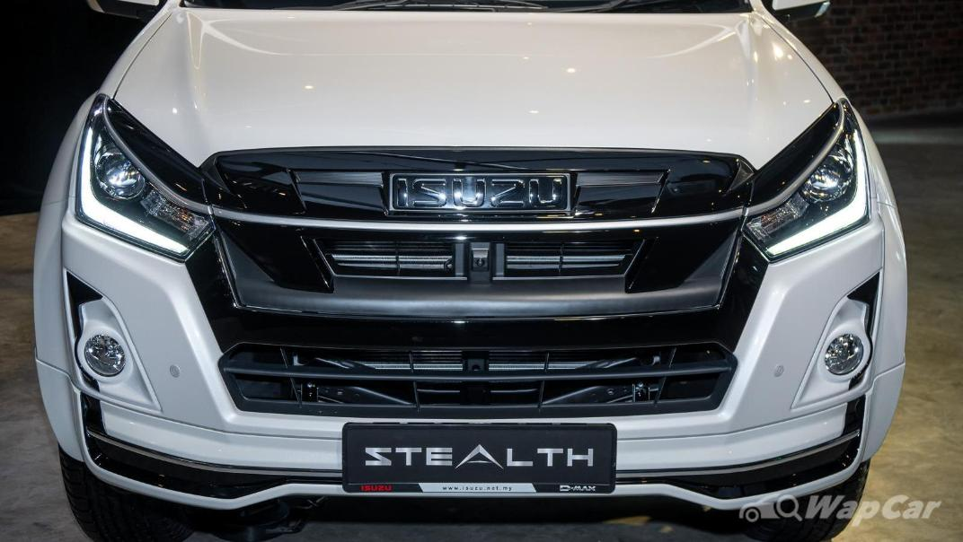 2020 Isuzu D-Max Stealth 1.9L 4×4 AT Exterior 005
