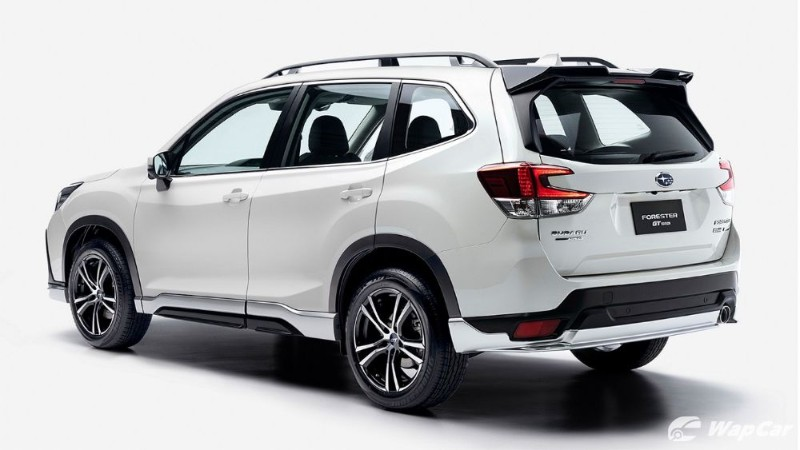 Subaru Forester GT - new aggressive body kit, 18-inch alloy - coming to Malaysia? 02