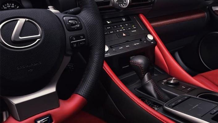 Lexus RC F (2020) Interior 003