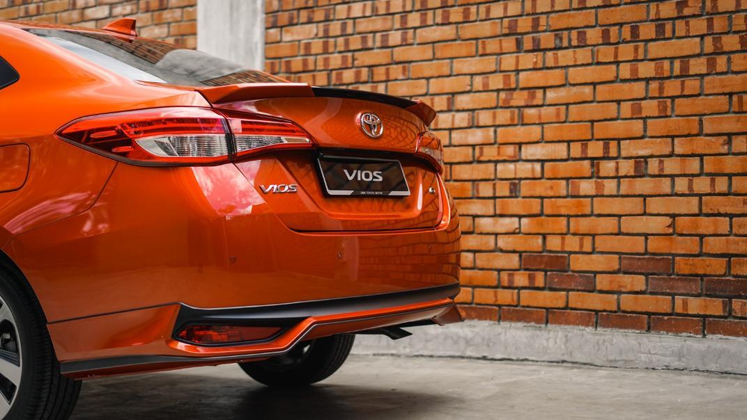 2021 Toyota Vios 1.5E Exterior 016