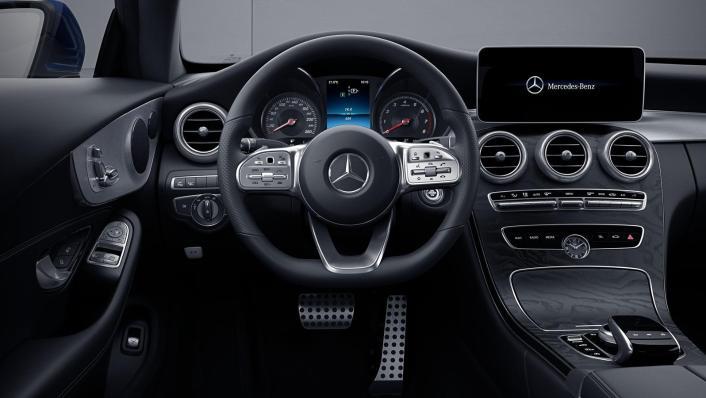 2020 Mercedes-Benz C-Class Coupe C 200 AMG Line Interior 001