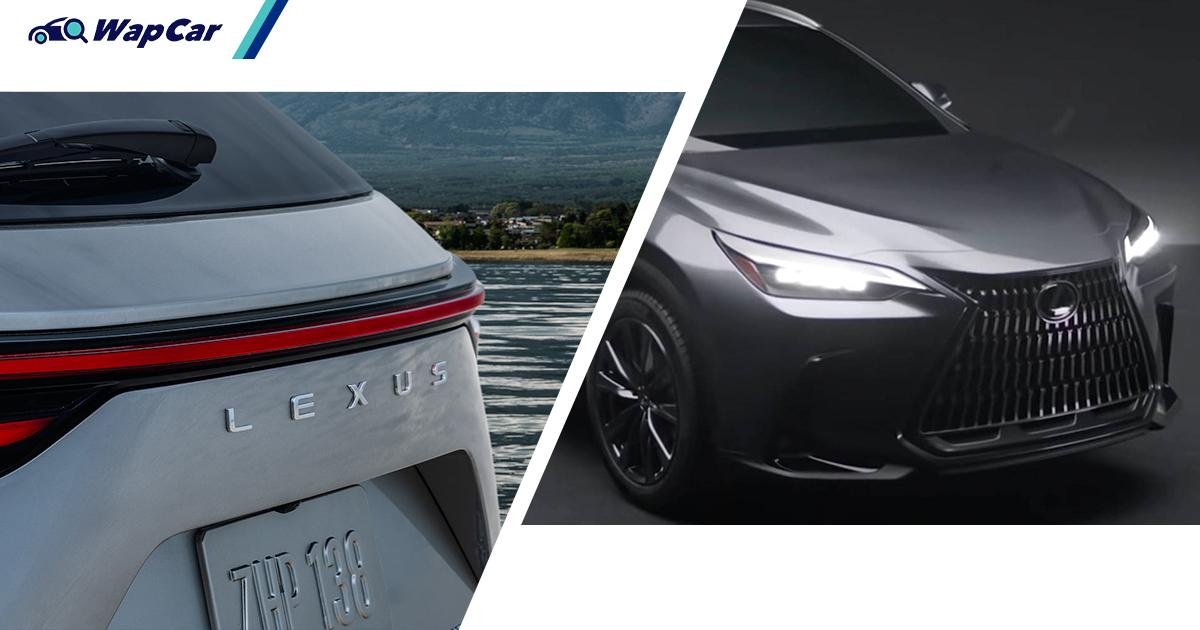 2022 Lexus NX Teaser Image Previews What We Already Know