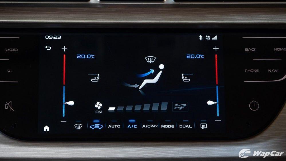 2020 Proton X70 1.8 Premium 2WD Interior 018