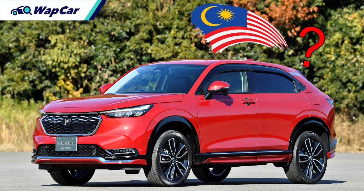 The all-new 2021 Honda HR-V is pretty, but might skip Malaysia 01