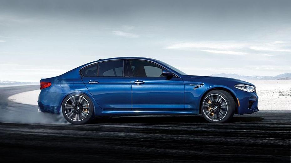 BMW M5 (2019) Exterior 004