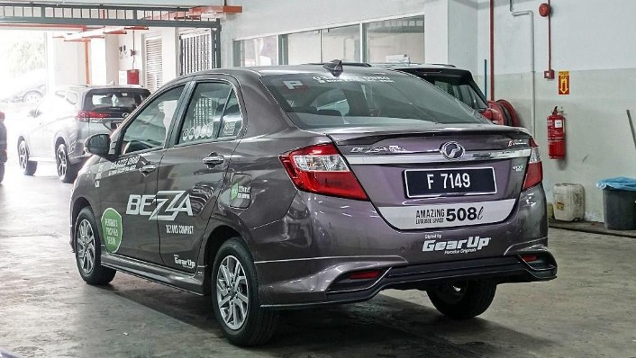 2018 Perodua Bezza 1.3 Advance Exterior 007
