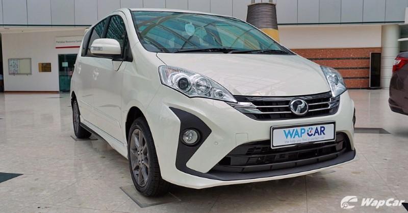 2019 Perodua Alza front view