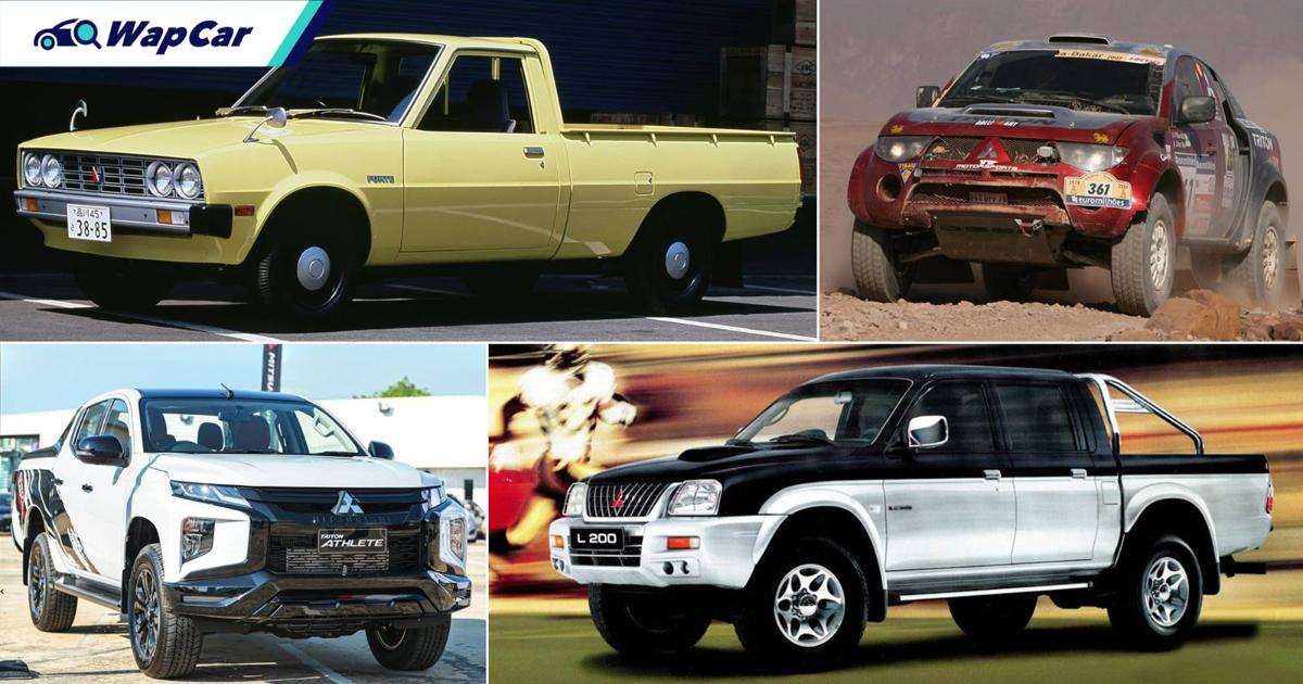 While we wait for the Mitsubishi Triton Athlete, let's pay respect to its forefathers 01