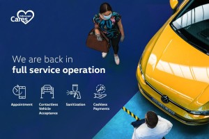All Volkswagen service centres are open nationwide, operating strictly on appointment basis