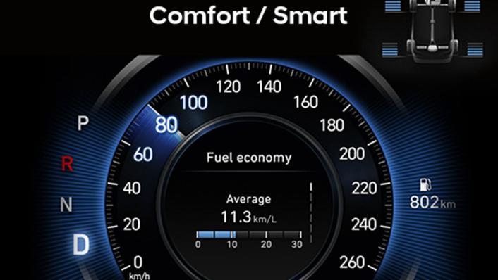 Hyundai Santa Fe (2019) Interior 003