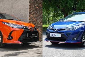 New vs Old: Can the 2020 Toyota Vios still hold off the City and Almera?