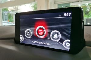 Larger 8-inch screen in 2021 Mazda CX-5 option available, RM 1k