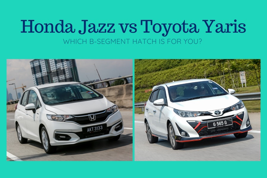 2017 Honda Jazz vs 2019 Toyota Yaris comparison