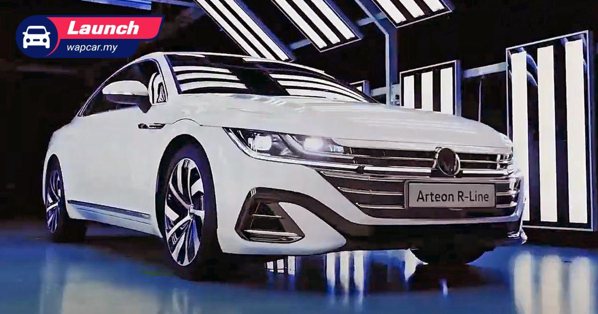 New 2021 VW Arteon R-Line facelift launched in Malaysia, priced at RM 247,671 01