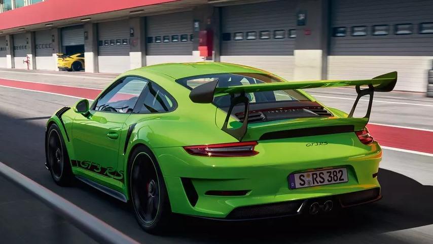 2019 Porsche 911 GT3 RS Exterior 005