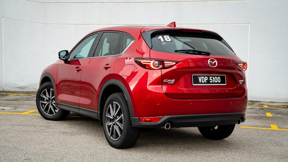 2019 Mazda CX-5 2.5L TURBO Exterior 008