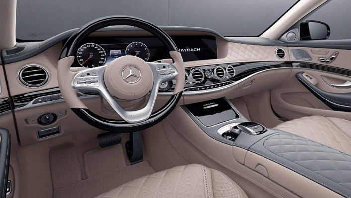 Mercedes-Benz Maybach S-Class (2018) Interior 002