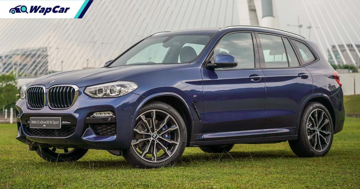 Malaysia to launch new BMW X3 sDrive20i variant in Q2 2021 01