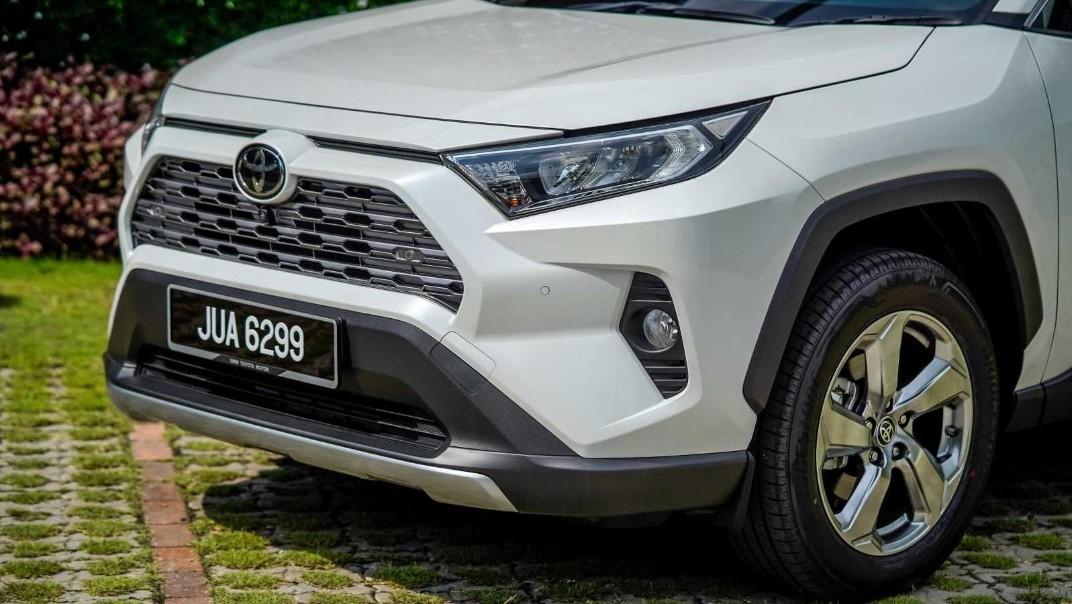 2020 Toyota RAV4 2.5L Exterior 042