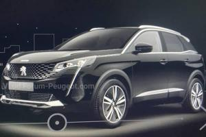 Leaked: 2021 Peugeot 3008 facelift - Honda CR-V competitor to get sharper looks!