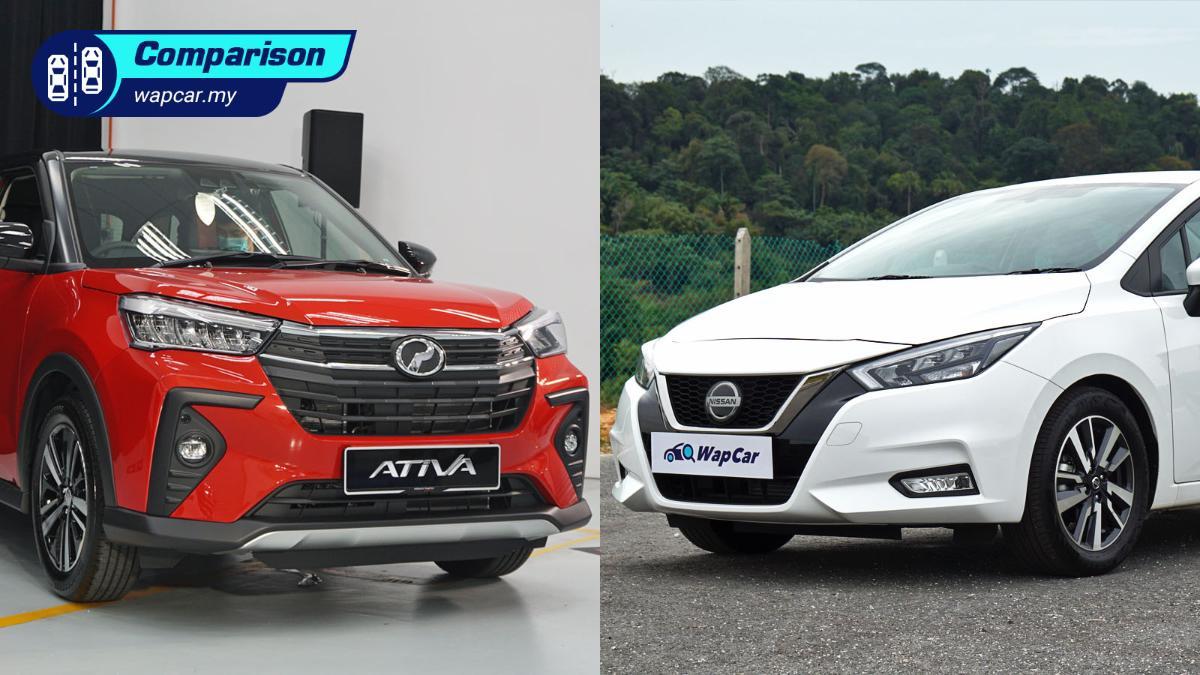 2021 Perodua Ativa vs Nissan Almera – which 1.0L turbo is better? 01