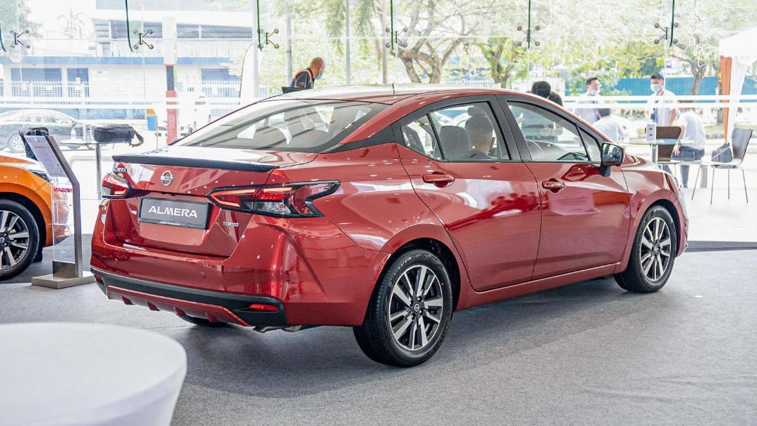 2020 Nissan Almera 1.0L VLT Exterior 003
