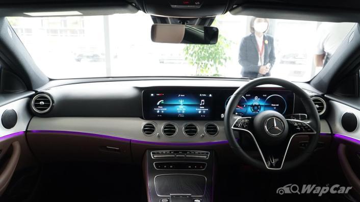2021 Mercedes-Benz E-Class E200 Avantgarde Interior 001