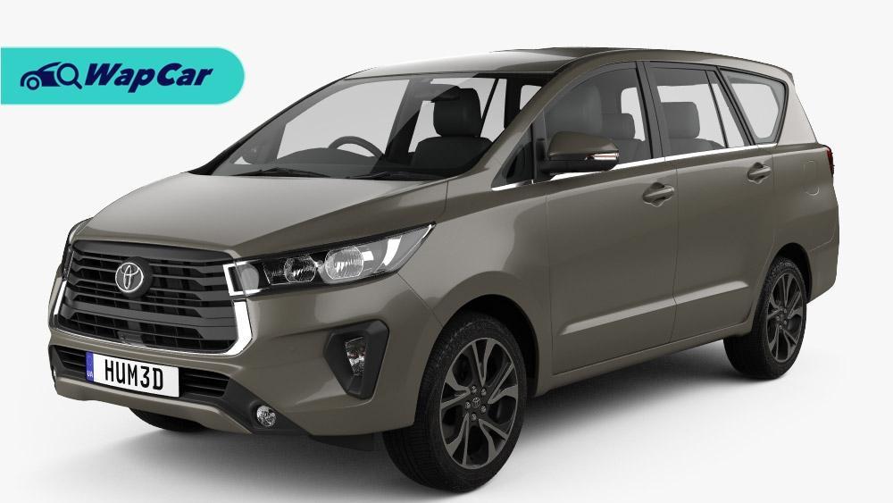 Rekaan Toyota Innova 2021 facelift diintip – lampu kabus dan gril baharu 01