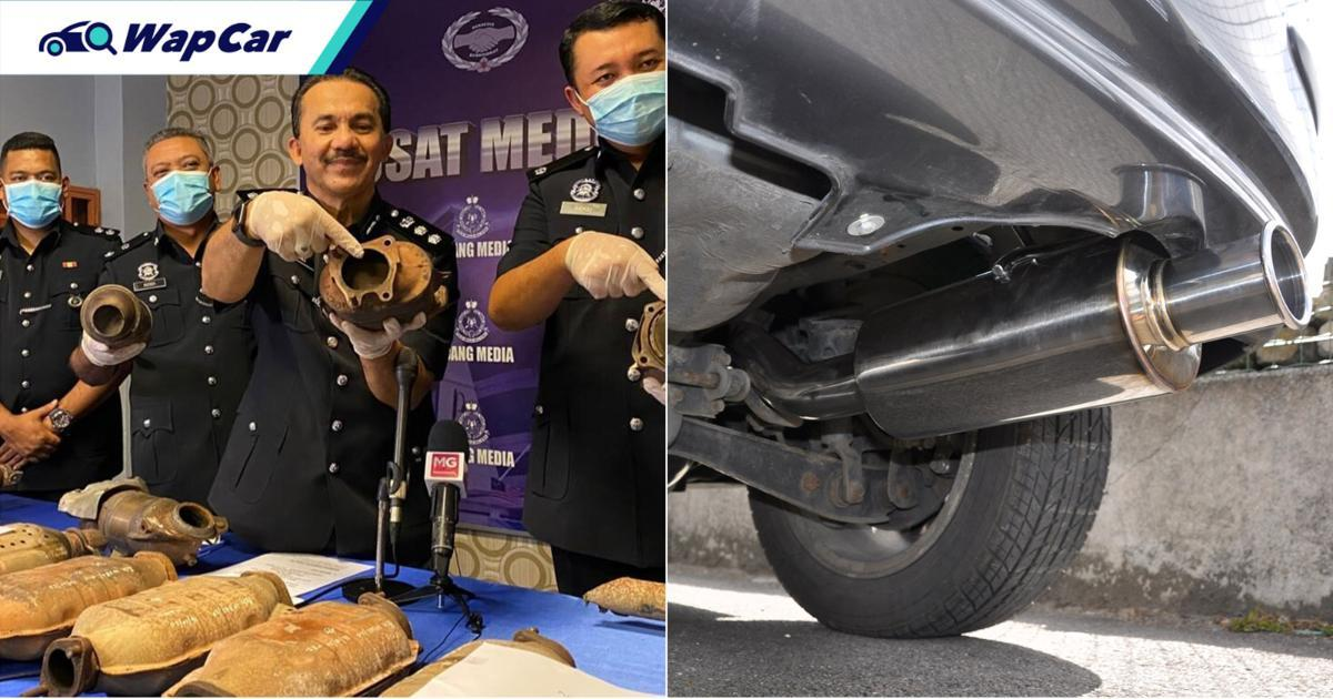 Car exhaust systems are getting stolen to turn into white gold rings 01