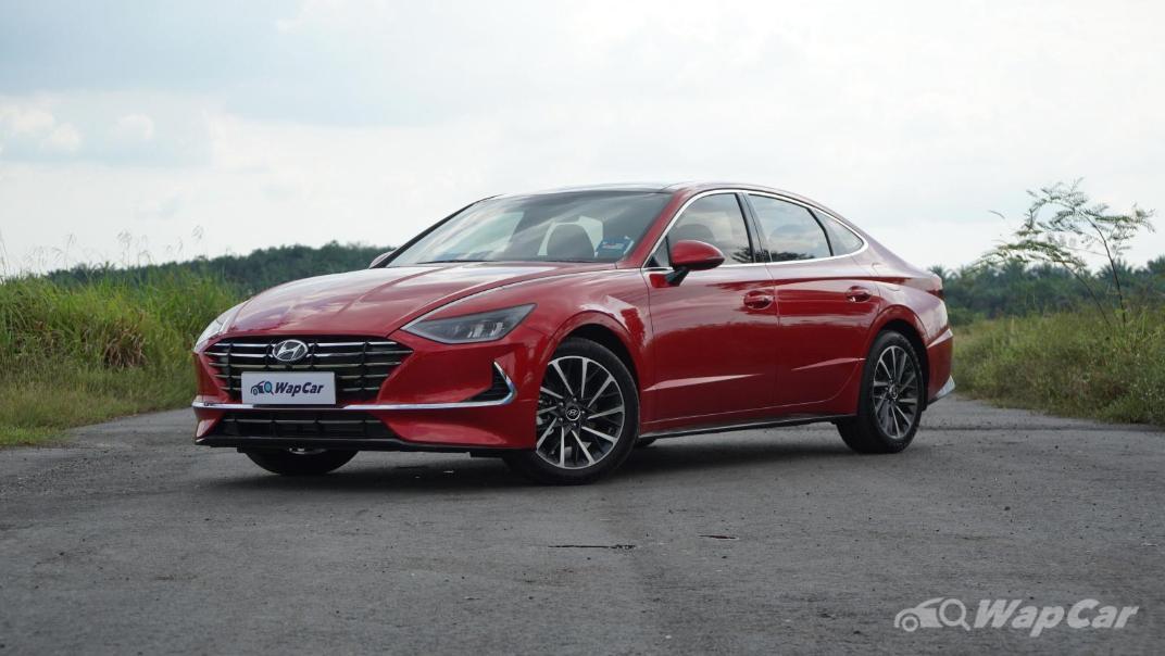 2020 Hyundai Sonata 2.5 Premium Exterior 001
