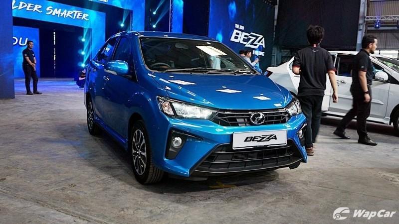 2020 Perodua Bezza 1.3 Premium X Facelift Exterior
