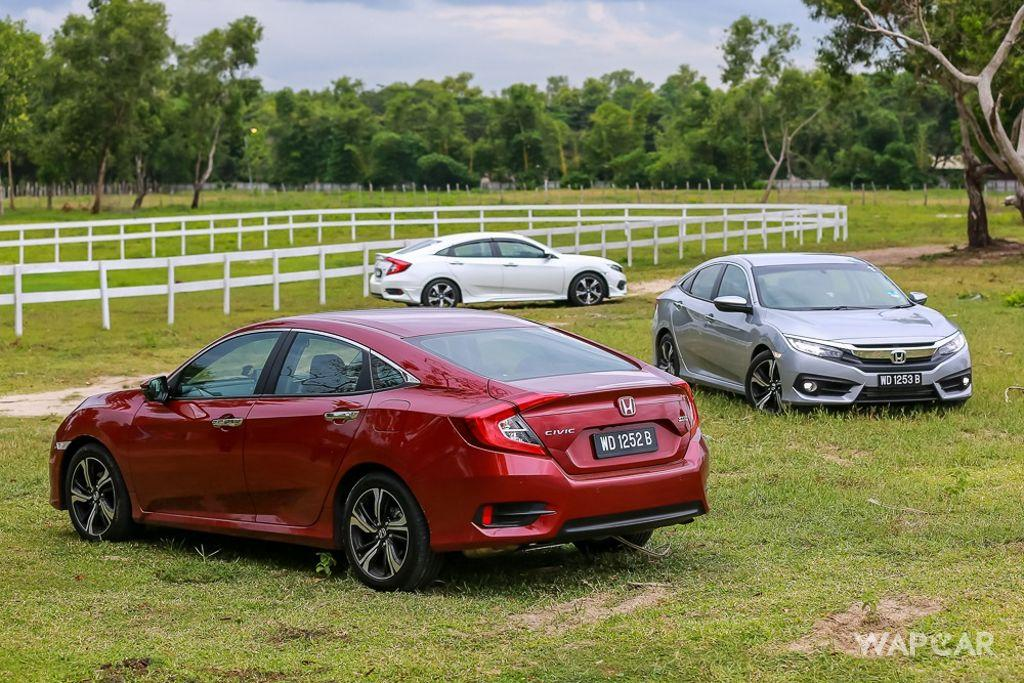 In Brief: New Honda Civic 2019, Best-Selling C-Segment Sedan In Malaysia 01