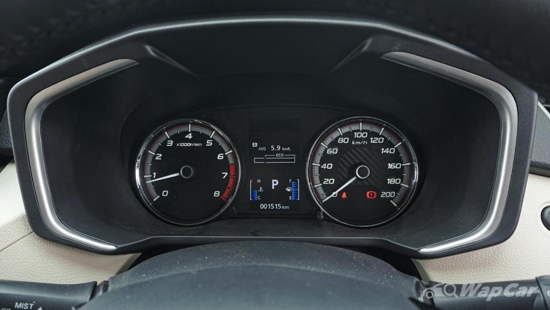 2020 Mitsubishi Xpander Upcoming Version Interior 022