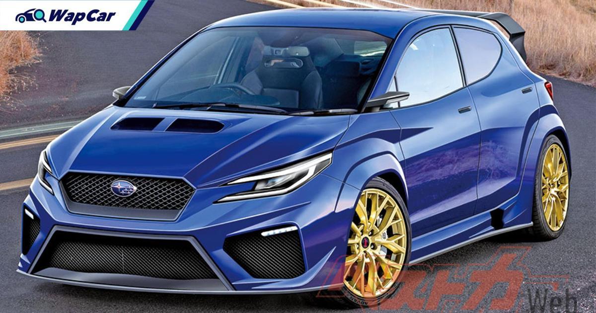 Impreza WRX STI hatch revival? Subaru and Toyota to debut AWD hot-hatch in 2022! 01