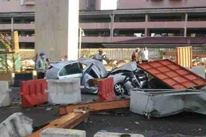 3 killed in SUKE construction crane collapse along Alam Damai