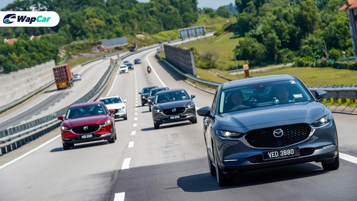 Pusat servis Mazda bertukar kepada minyak enjin Petronas Syntium 01